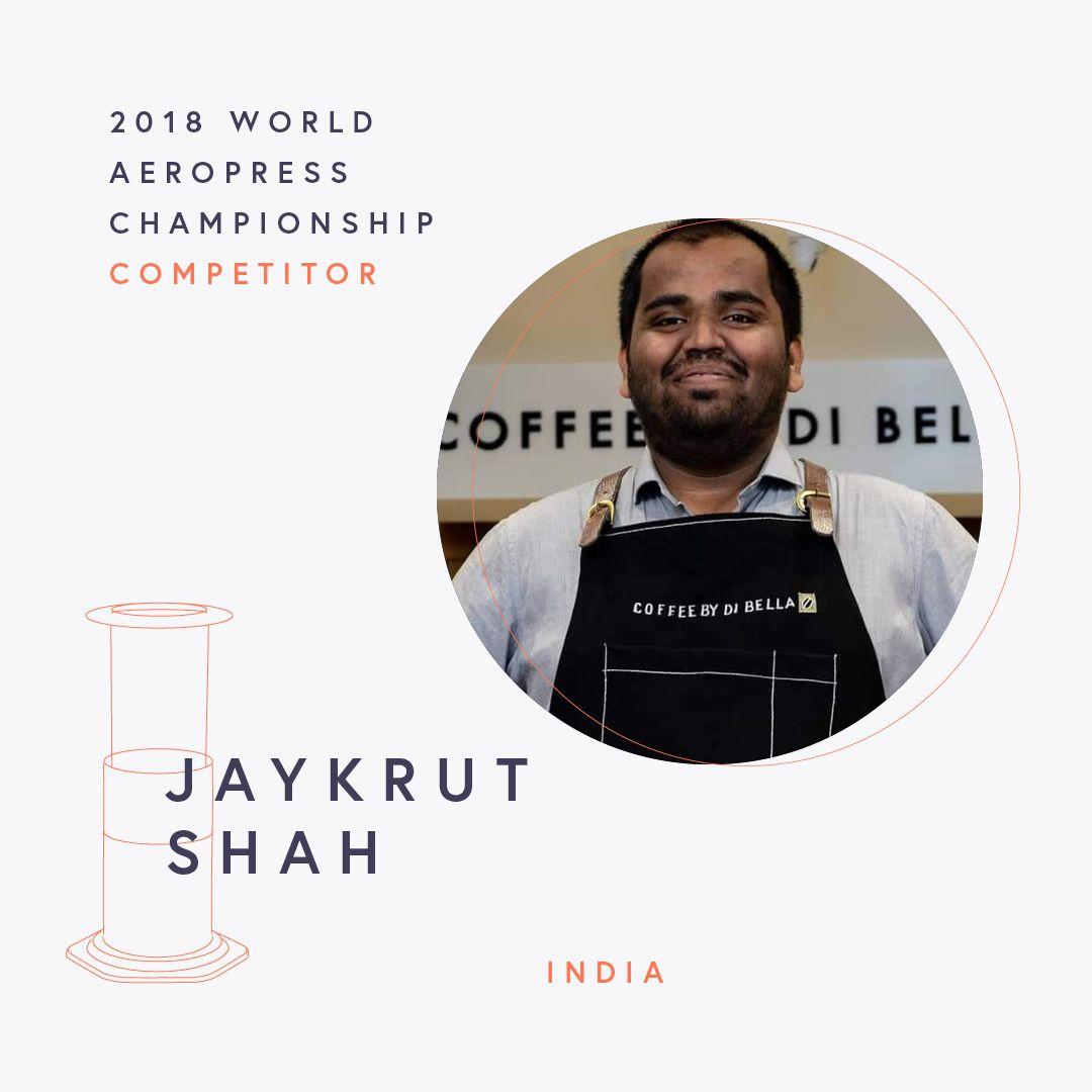 The World AeroPress Championships: Jaykrut Shah