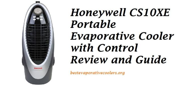 honeywell air cooler review