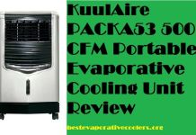 kuulaire evaporative cooler