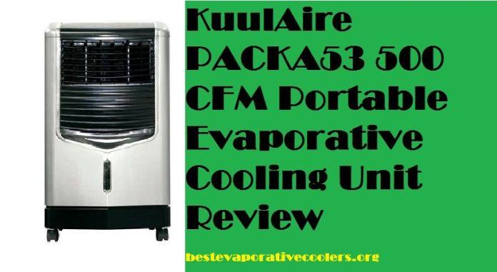 kuulaire evaporative cooler