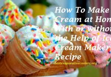 ice cream recipe without ice cream maker condensed milk