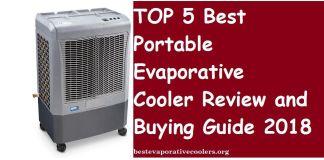 best portable evaporative air cooler