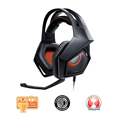 ASUS Strix Pro Gaming Headset with Large 60mm Drivers PC
