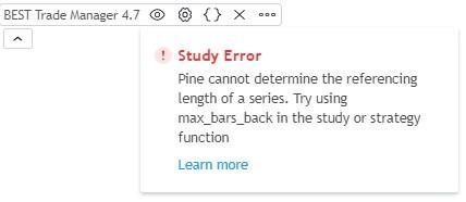 TradingView Study Error Max_bars_back