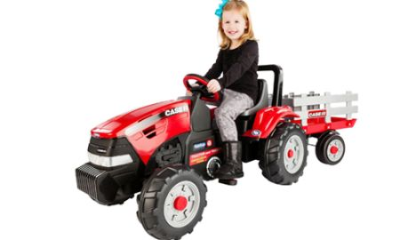 kids power wheels tractor