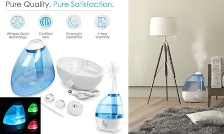 best cool mist room humidifier Pure Enrichment Ultrasonic
