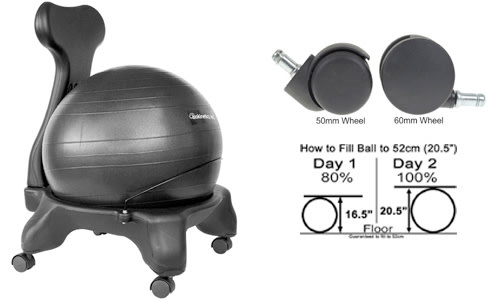 Best_Exercise_balance_ball-Chair-50_60mm_wheel