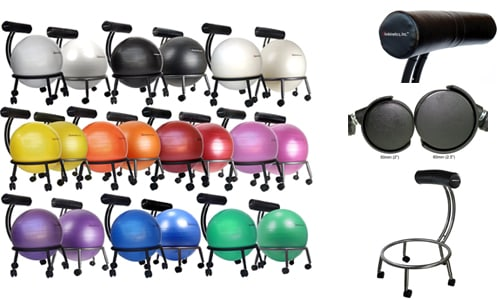 Best_Exercise_balance_Chair_ball_-_50mm_60mm_whieel