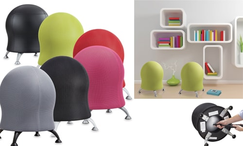 zenergy balance ball chair for office