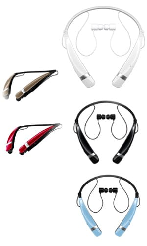 LG Electronics Tone Pro HBS-760 Bluetooth Wireless ear buds