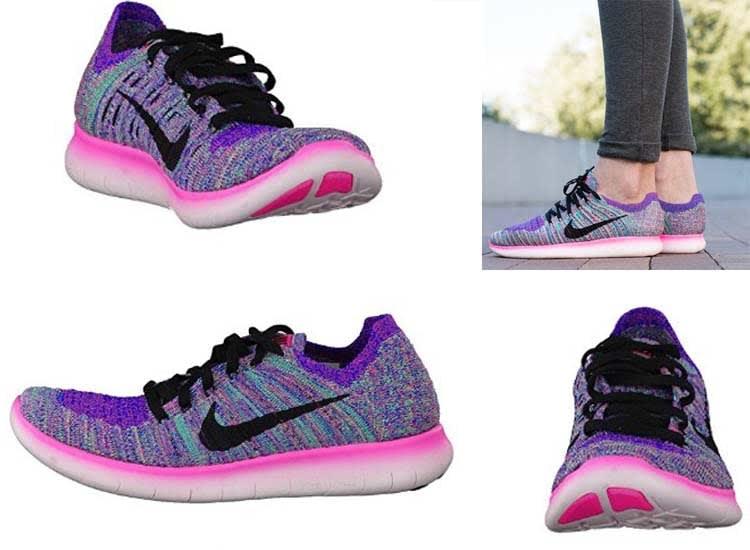 Nike training shoes Women's Free trainer Rn Flyknit Running Shoe