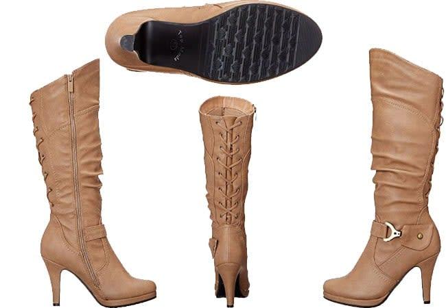 over the knee high heel - women's boots