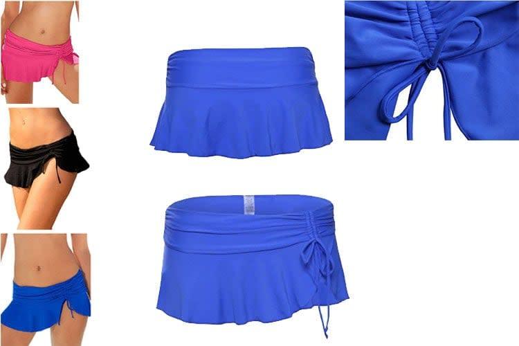 skirted bikini bottoms,skirted bottom, tennis bottom dress, Skirted Bikini,Women's down bikini bottoms pantsladies Tie Swim Shorts, swimsuits bottoms, thong bikini bottoms, women's underwear