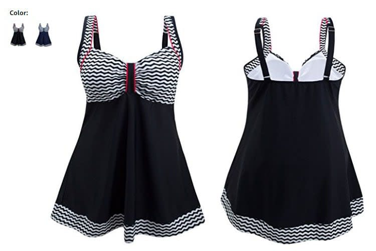 swim dresses, swimdresses, swimdress, swimming dress for women, bathing suit dress, swimsuit dress, longer swim dresses, plus size monokini tops