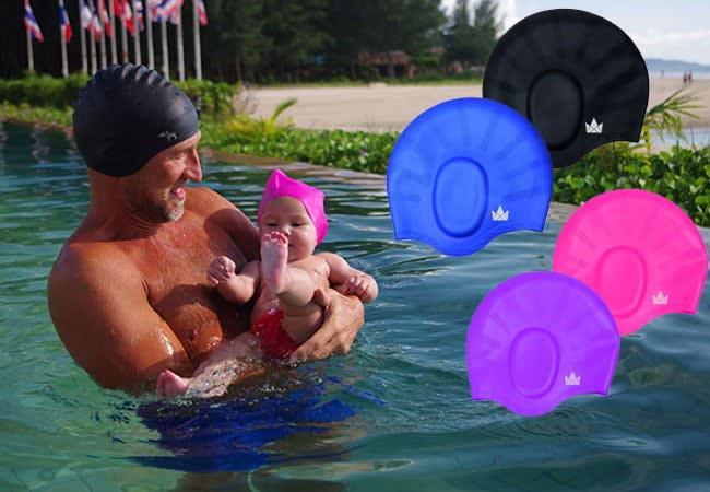 swimming hat - best swim cap - swim caps for long hair - swim caps for long hair - kids swim caps