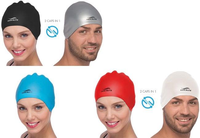 Custom Swim Caps - Silicone Swim Caps - swim caps for long hair - men swimming caps - girls swim - latex swimming cap - swimming cap