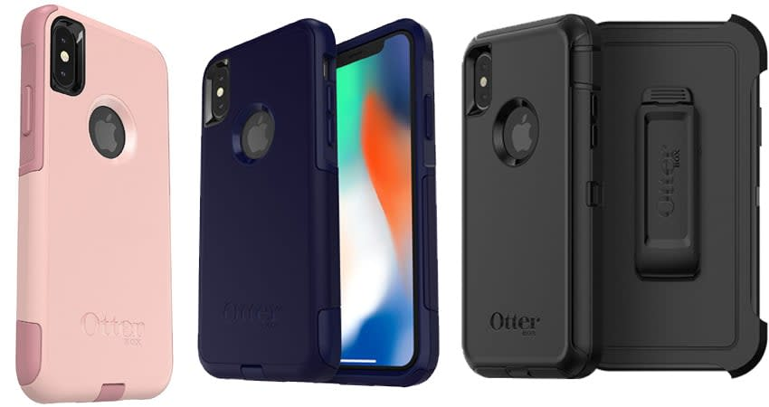 OtterBox case for iPhone x - Best iPhone X Case, - Commuter Series Compatible iPhone X Cases - best case for iphone x - best iphone x cases - cool iphone cases