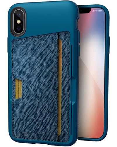 Silk iPhone X Wallet Case iphone x leather case iphone 10 leather case apple iphone x leather cases iphone x leather folio case for your new phone - 100% genuine leather