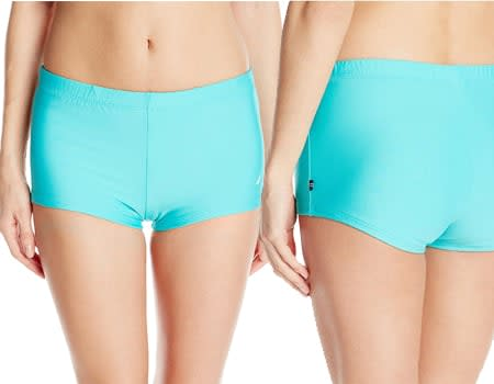 Women's Signature boyshort underwear Boy-Short Bikini Bottom swim shorts for women womens board shorts - women's board shorts