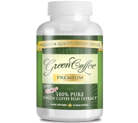 pure green coffee bean supplements