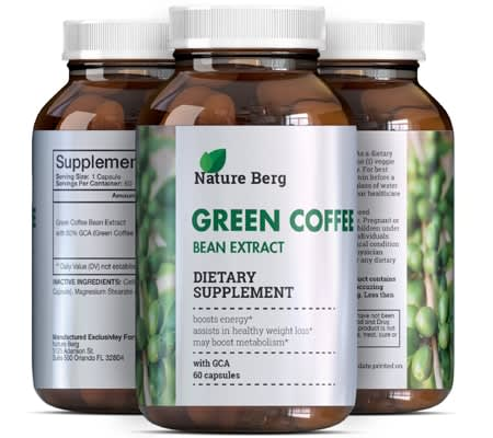 green coffee bean extract pills