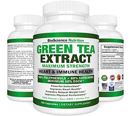 green tea fat burner - catechins