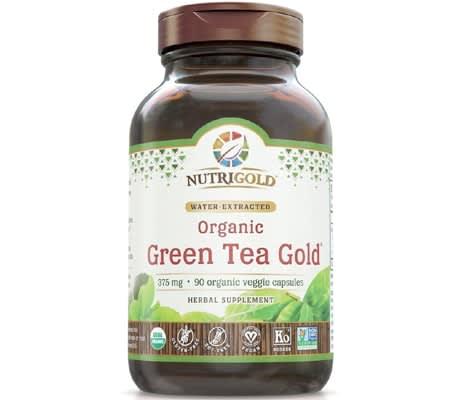 green tea leaf extract supplements