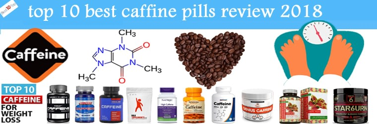 Top 10 Best Caffeine Pills 2018 | Caffeine Capsules Or Tablets Supplement Reviews