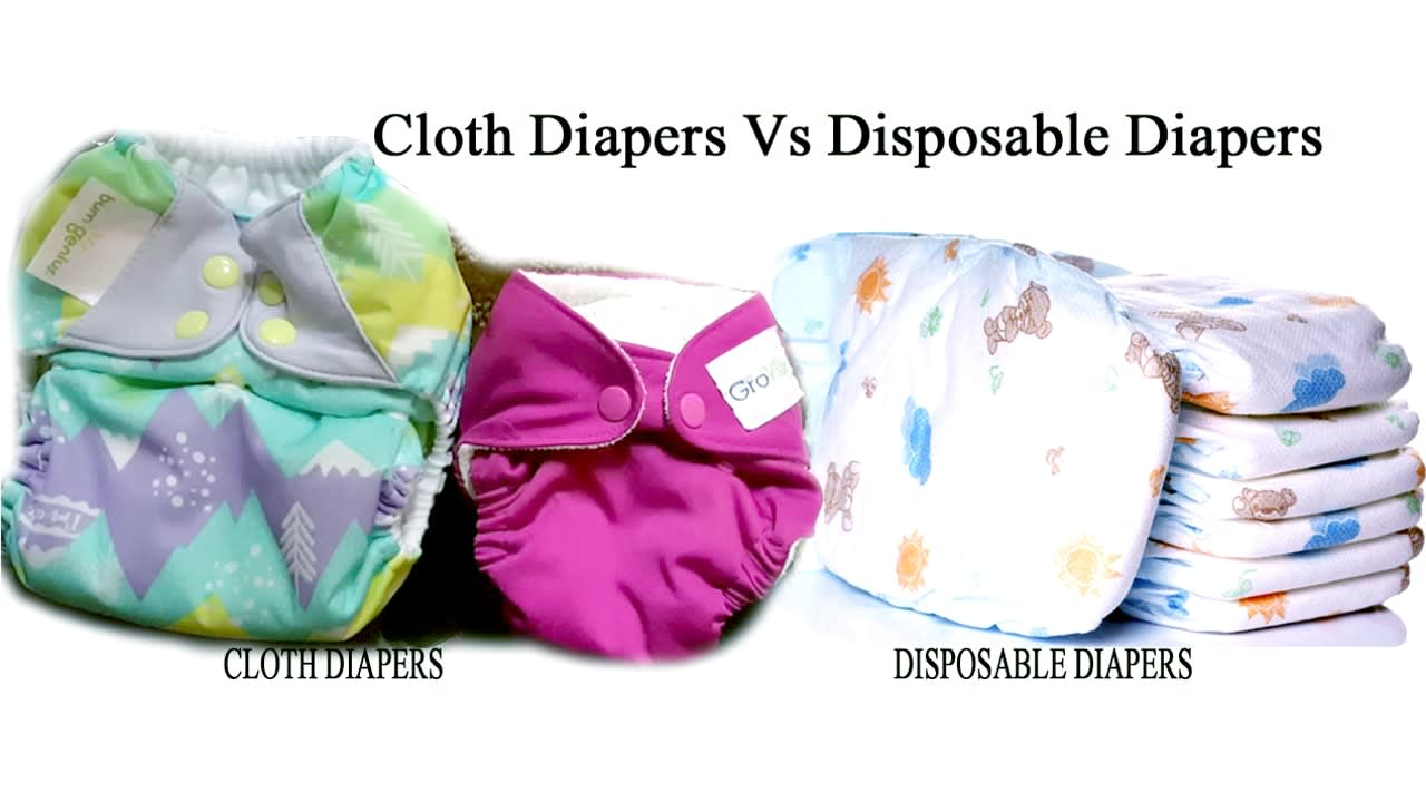 disposable vs cloth diapers