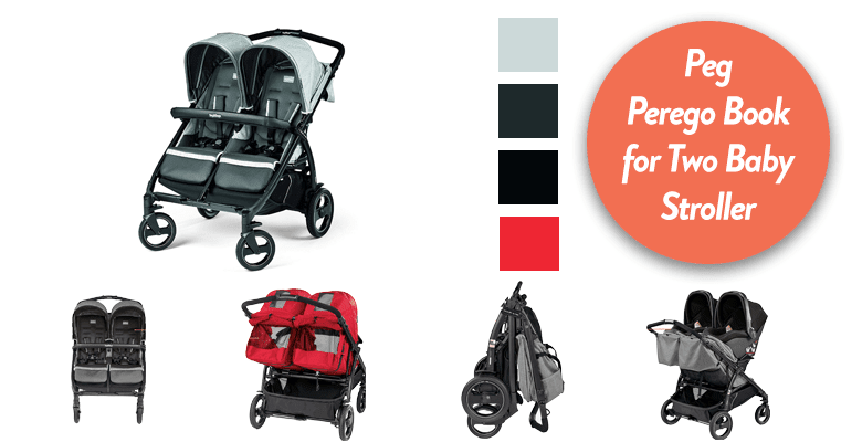 Peg Perego Best Double Strollers