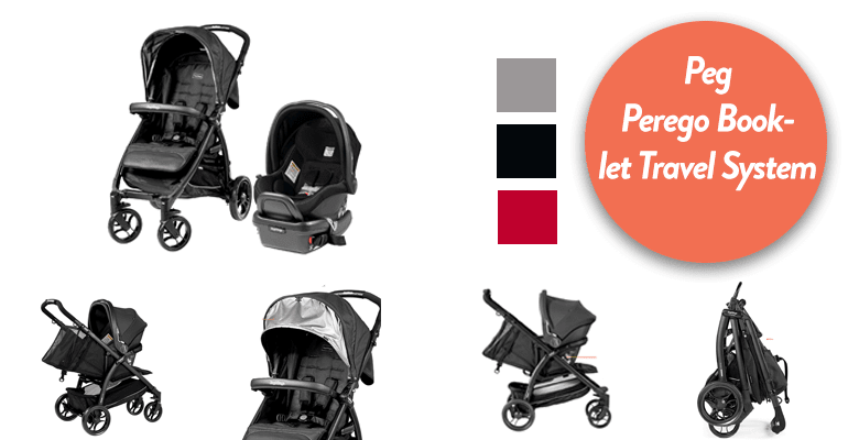 baby jogger - 3 in 1 travel system - Peg Perego stroller