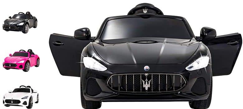Uenjoy Maserati GranCabrio 12V Electric Kids Car