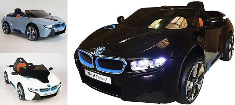BMW i8 12V Kids Ride On Car-min