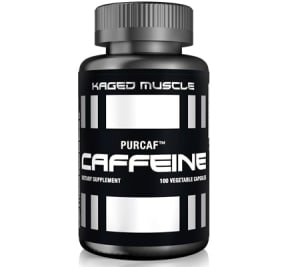 PurCaf Organic Caffeine Capsules – 100 Servings – Smooth & Clean Energy Boost