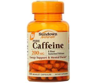 Sundown NaturalsCaffeine Pills/Capsules - caffine pills caffiene pills