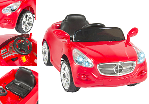 Power-wheels motor car for kids