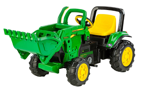 John Deere Tractor Power Wheels Front Loader - Kids Toy