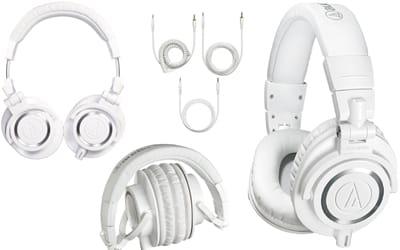ATH-M50X Close Back Over Ear Studio Monitor Headphones copy