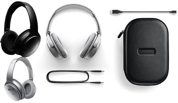 Top rated Bose QuietComfort 35 Wireless Over Ear Headphone