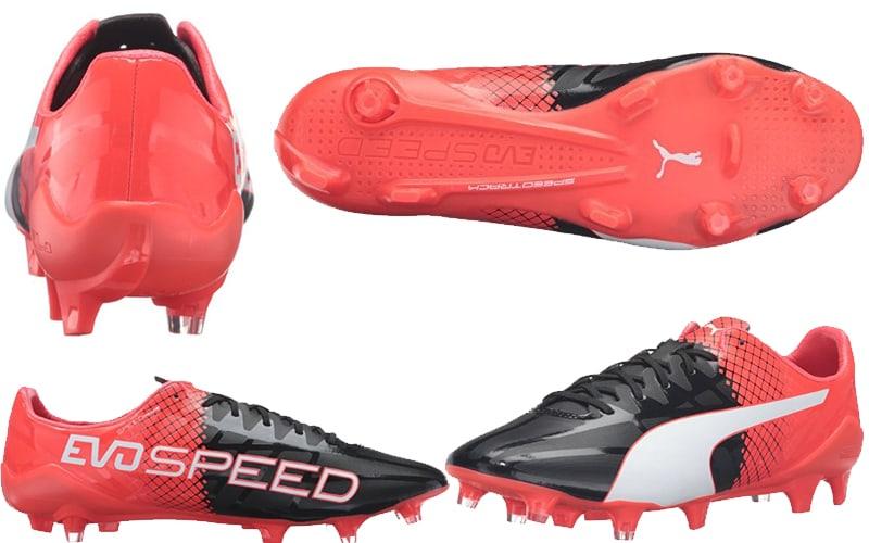 puma soccer cleats - king soccer cleats - evo speed