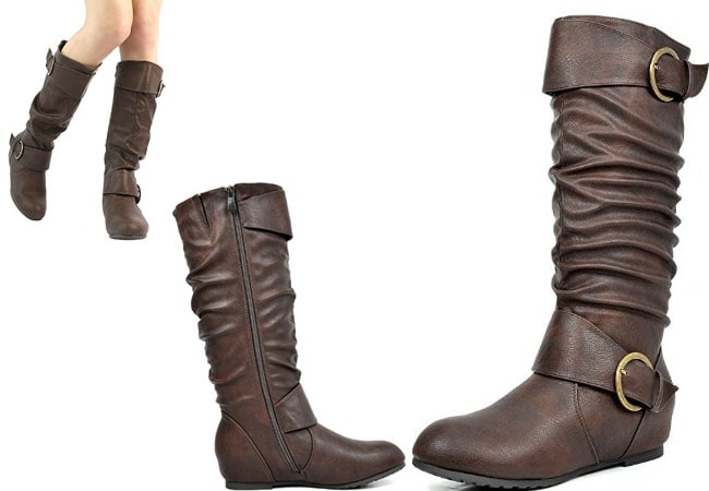 over the knee high heel boots - western boots - womens cowboy boots - cowgirl boots