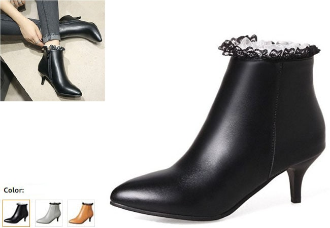 best high heel boots full leather women & girl ankle Boots for Women - Buy Women's Boots