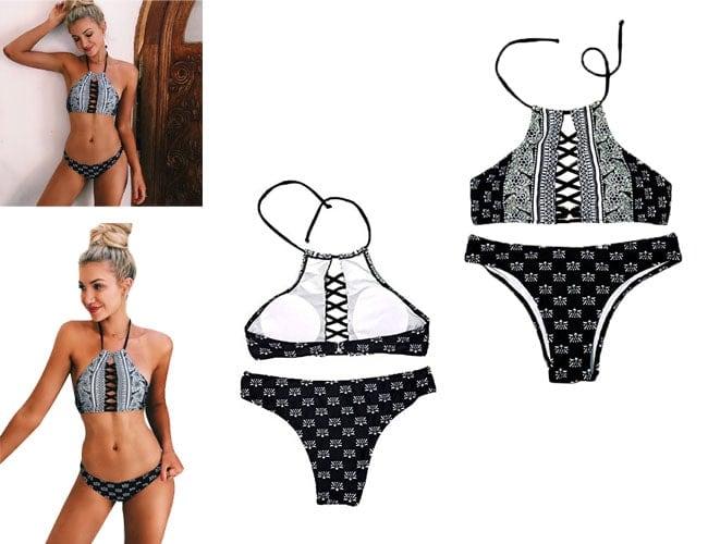 Tankini Tops, bikini tops, bathing suits for body types, swim suit top, swim top, high top bikini, bandeau swimsuits, underwire bikini tops,