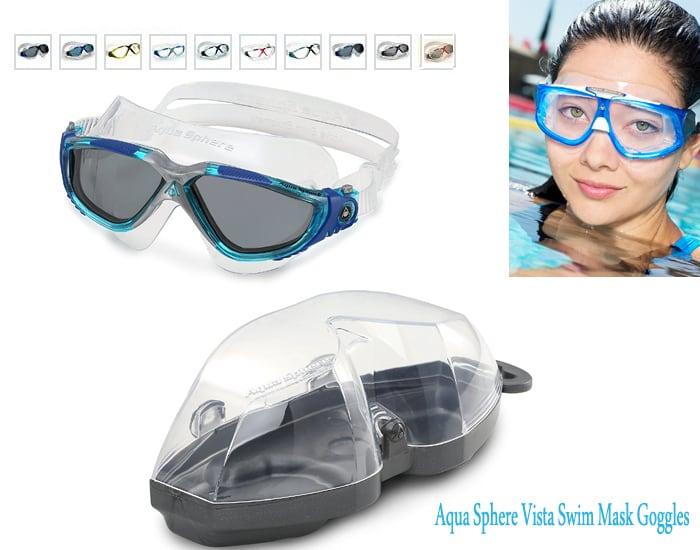 Aqua Sphere Vista Swim Mask Goggles Swim Mask - Diving mask - swimming face mask - swim mask amazon - swim mask goggles