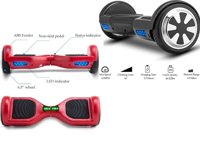 Best Hoverboard Review in 2019, Top 10 Self Balancing Scooters