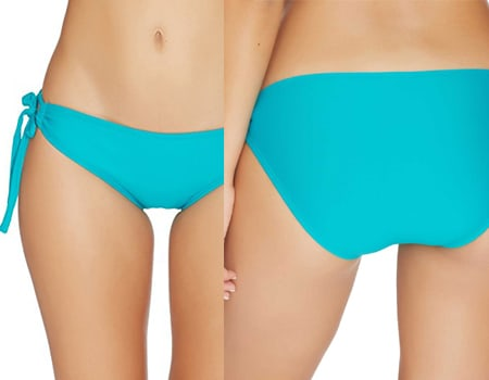 Next - Good Karma Tubular Tunnel Bikini Bottom pink underwear Women's Swimwear wim shorts for women