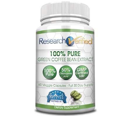 Best 10 pure green coffee bean pills for weight loss 2018 green research verified 100 pure publicscrutiny Image collections