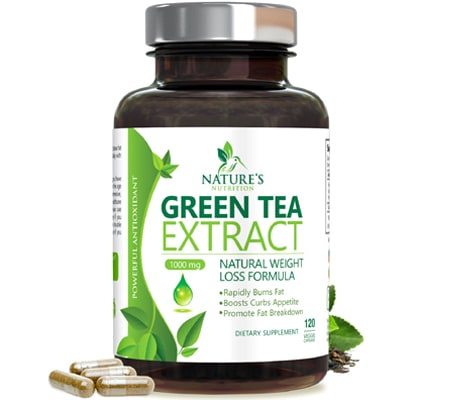 Zenwise Health Tea Extract Supplement with EGCG & Vitamin C