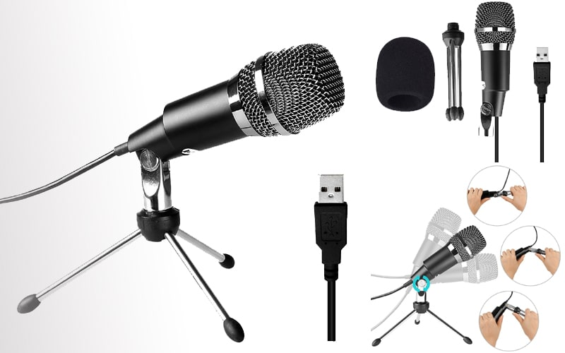 cheap usb microphone for recording