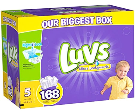 luvs newborn diapers